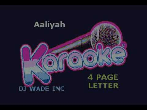Aaliyah   4 Page Letter, Demo (lyrics)