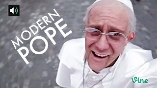 Klemen Slakonja as Pope Francis - Modern Pope (#SpreadLove)