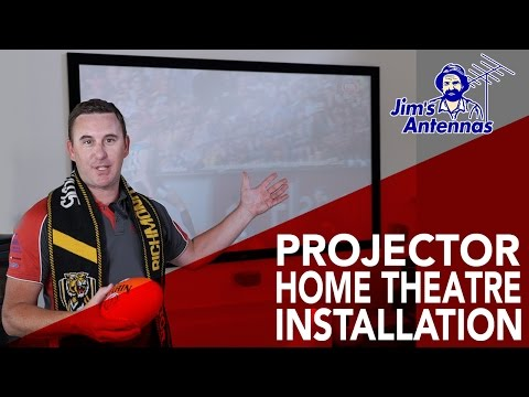 Top-4 Tips for Installing a Home Theatre Projector Installation