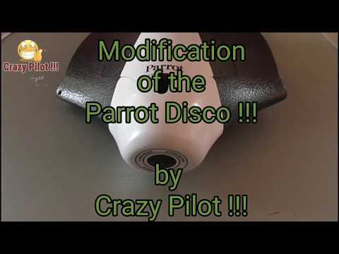 Modification of the Parrot Disco !!!   ( mod. part 1)