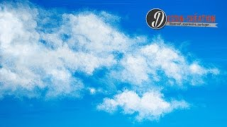 comment peindre un ciel avec des nuages simplement