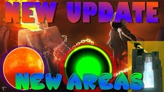 WHERE ARE NEW AREAS & HALLOWEEN UPDATE | Super Power Training Simulator | Roblox