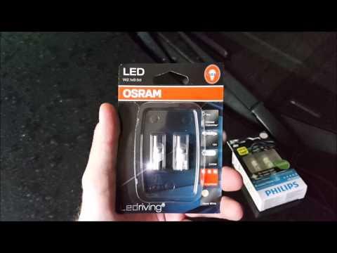 Замена ламп подсветки салона Hyundai IX35