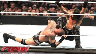 Randy Orton & Roman Reigns vs. Kane & Seth Rollins: Raw, April 27, 2015