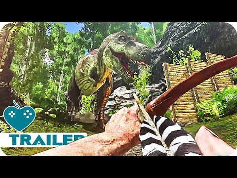 ARK: Survival Evolved Trailer (2018) iOS, Android Ark Mobile Game