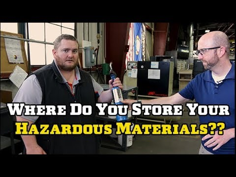 How to Store Hazardous Materials