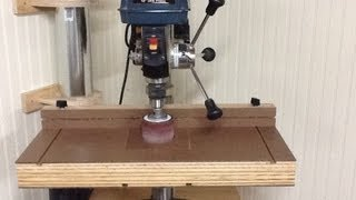 Build The Ultimate Drill Press Table