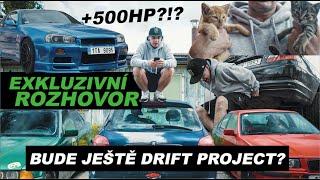 EXKLUZIVNÍ rozhovor pro Monster energy | Bude ještě drift project? | Skyline 500+ hp?