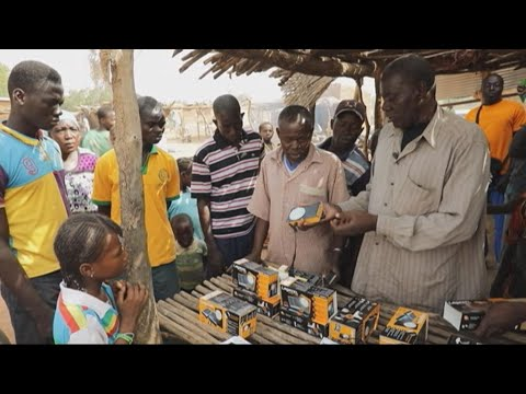 Let there be light: Solar lamps help power Burkina Faso