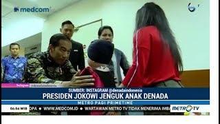 Jokowi Jenguk Putri Denada