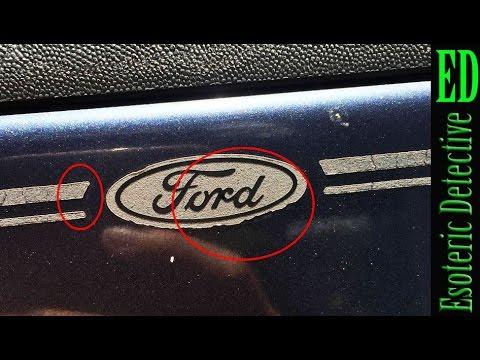 "Mandela Effect   Possible ""real world"" residue of the old Ford logo?   #MandelaEffect"
