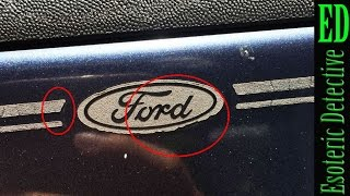"Mandela Effect | Possible ""real world"" residue of the old Ford logo? 