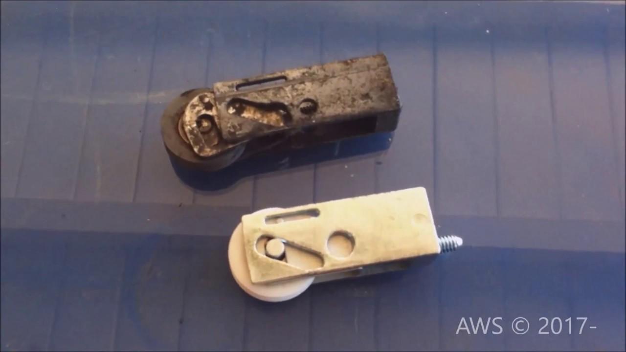 Sliding Glass Patio Door Roller Replacement Youtube