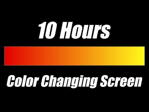 Color Changing Screen