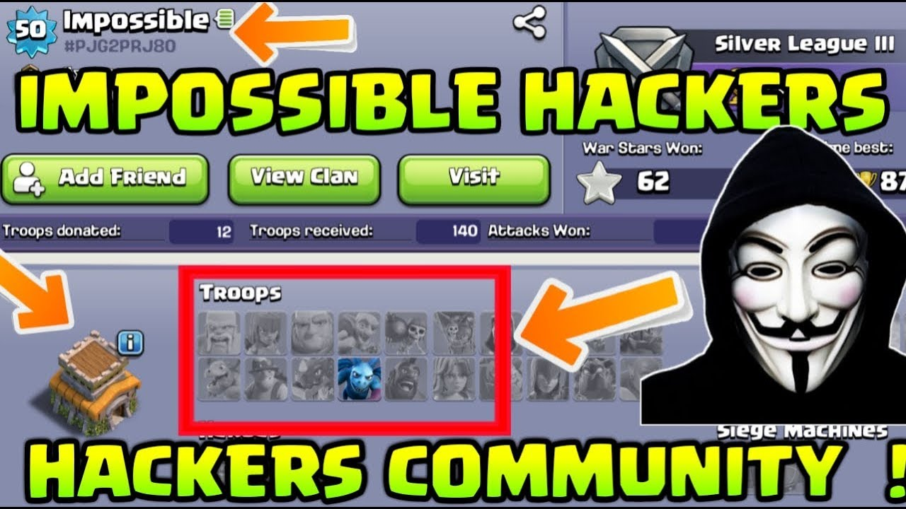 😱 BIGGEST HACKERS GROUP ! They Hacked Clash of Clans !