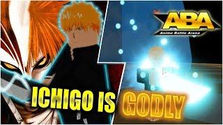 ICHIGO DESTROYS IN THIS GAME.... | Roblox | Anime Battle Arena