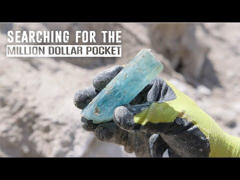 Mt. Antero Treasures - Episode 1- Mining Aquamarine