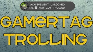 GamerTag Trolling: FAKE Achievements