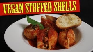 Stuffed Shells Recipe | How To Make Bruschetta | Cooking With The Vegan Zombie Episode 1