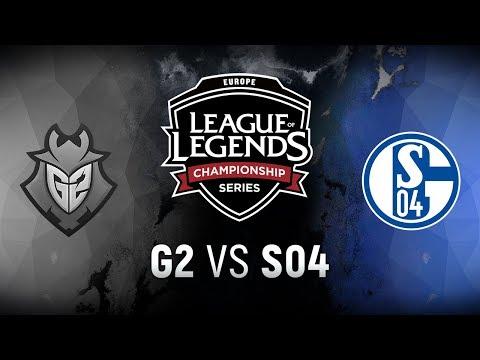 G2 vs. S04  - Week 4 Day 1 | EU LCS Spring Split |  G2 Esports vs. FC Schalke 04 (2018)