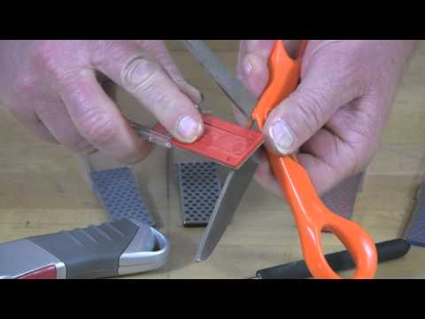 Video of Diamond Mini-Sharp® Sharpener – Sharpening Scissors