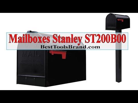Gibraltar Mailboxes Stanley ST200B00 Post Mount Mailbox