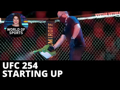 UFC 254 gears up on Fight Island, Khabib and Gaethje face off