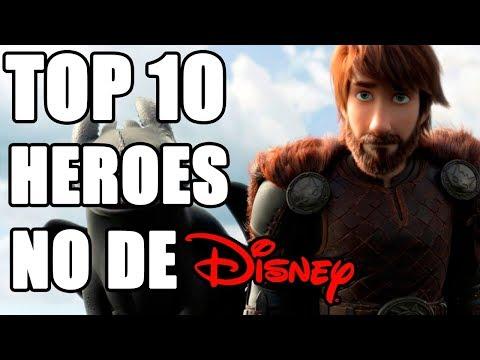 Top 10 Heroes NO animados por Disney