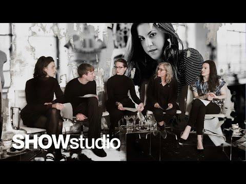 Mary Katrantzou - Womenswear Autumn / Winter 2014 Panel Discussion