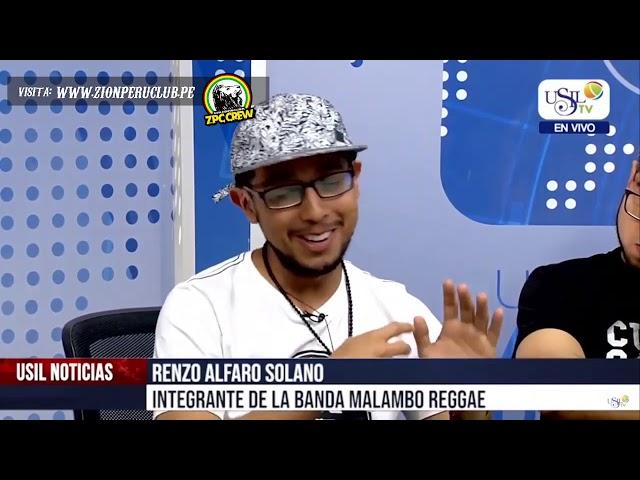 ENTREVISTA MALAMBO REGGAE PERUANO 📣