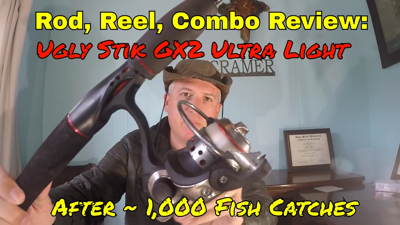 Rod, Reel, Combo Review: Ugly Stik GX2 Ultra Light after ~ 1,000 Fish  Catches