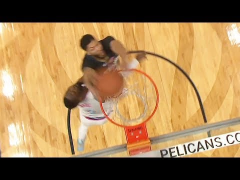 Anthony Davis Dunks on Dwyane Wade with Alley-Oop Dunk! Miami Heat vs New Orleans Pelicans