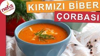 Közlenmiş Kırmızı Biber Çorbası - Miss gibi çok lezzetli bir çorba tarifi