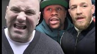 Dana White Offers 50 Million For Mayweather vs Mcgregor Fight He's Giving Them Both 25 Mill Each.