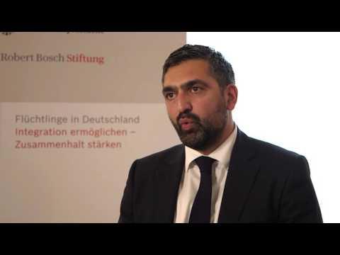 Interview mit Farhad Dilmaghani auf dem #ForumFlüchtlinge