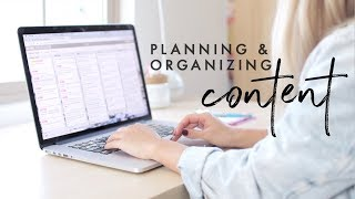 How I Plan & Organize My Content for YouTube