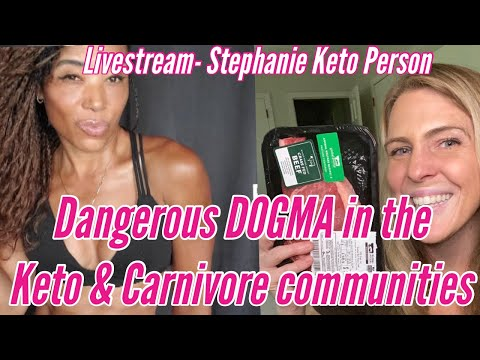 harmful-diet-dogma-in-the-carnivore-&-keto-communities---steph-&-sarah-discuss!