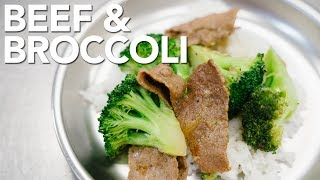 BEEF & BROCCOLI - Instant Pot