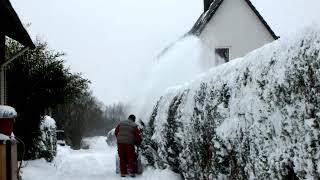 Schneefräse MC Culloch PM 85 Husqvarna, Snowblower