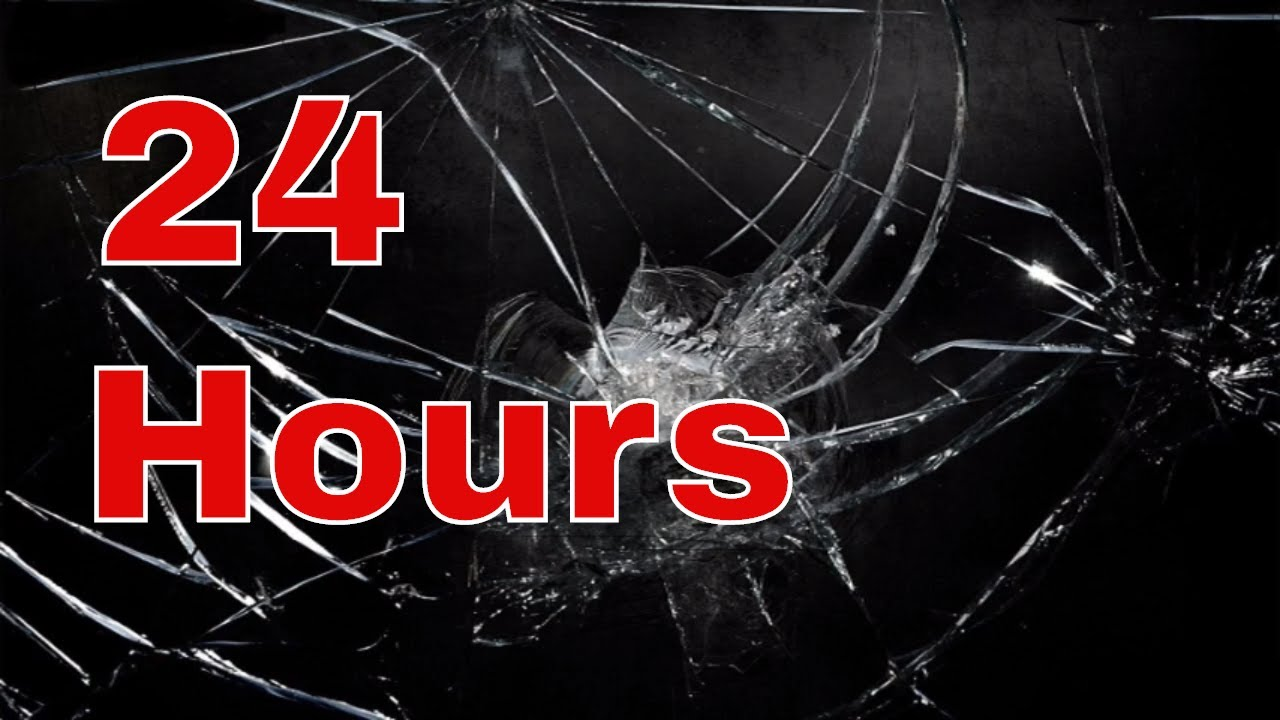 24 Hour Prank Smashed Screen Background Youtube