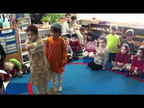 The Montessori School of Huntsville Pre-Primary Eid Presentation - Aayan & Ishaan