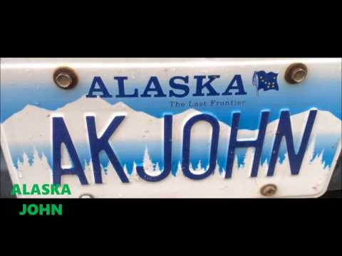 ALASKA DRIVING - Anchorage Night Downtown - March 10th 2017