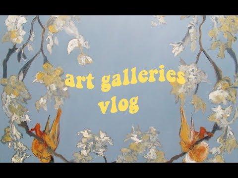🖌visiting art galleries in sa (vlog)🌊 // coolaidkrusade