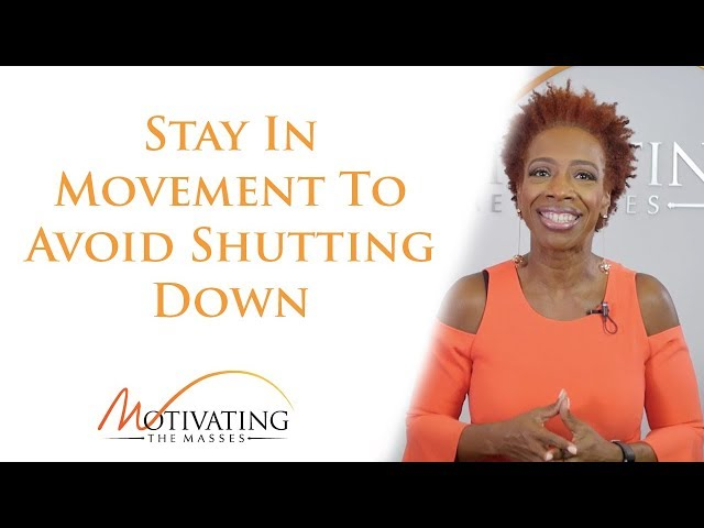 Lisa Nichols - Stay In Movement To Avoid Shutting Down