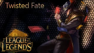 Guia de campeones: Twisted Fate maestro de las cartas Temporada 5 (s5)