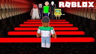 ROBLOX HORROR OBBY 2018