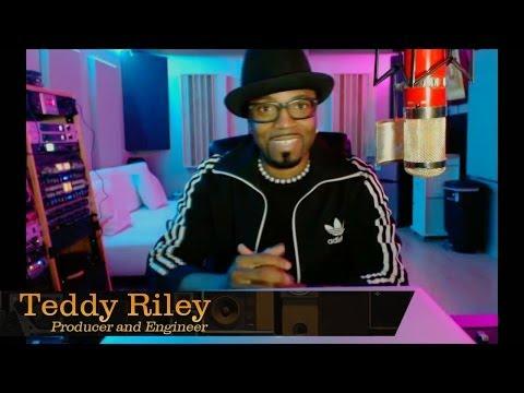 Music Producer Teddy Riley - Pensado's Place #169