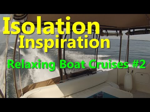 Isolation Inspiration #2 - Relaxing Boat Cruises: Crossing Lake Simcoe