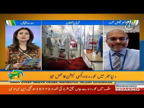 Aaj Pakistan with Sidra Iqbal | 13th January 2021