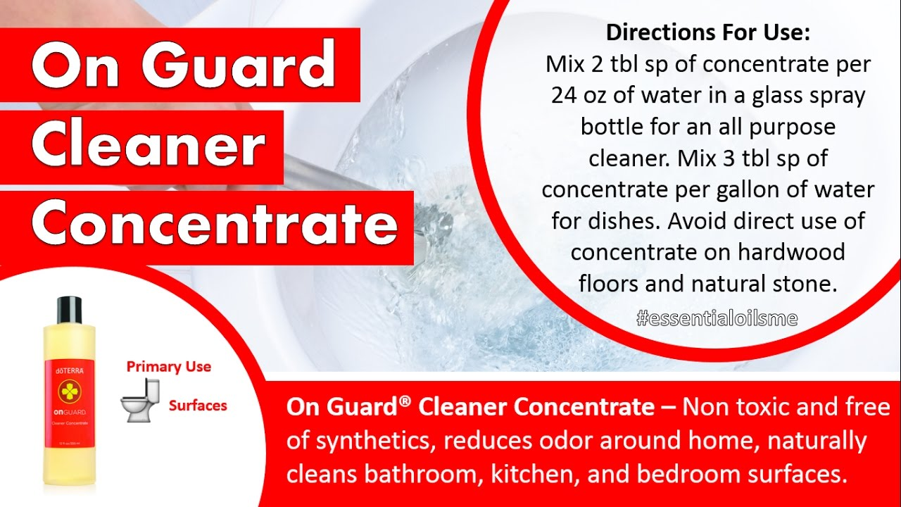 Doterra bathroom cleaner - Best Doterra On Guard Cleaner Concentrate Review